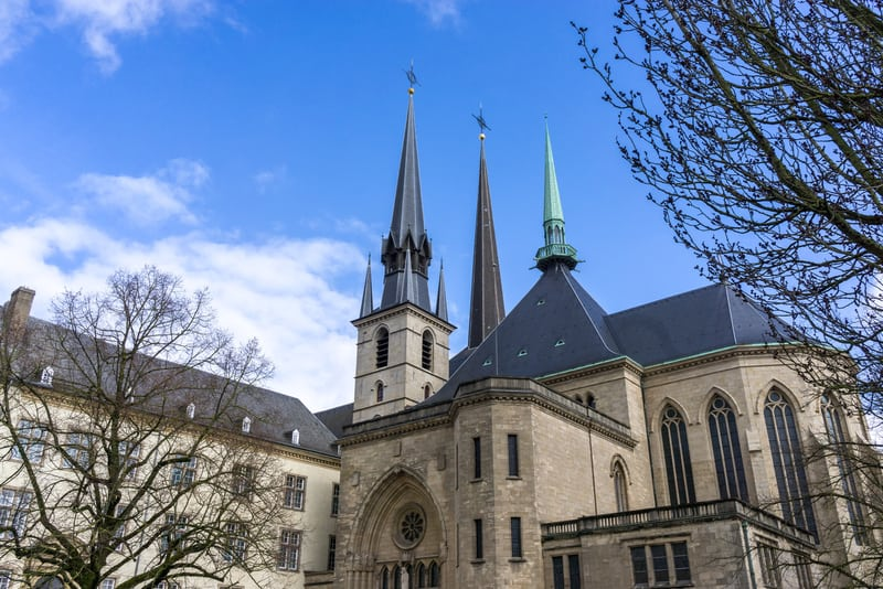 Notre Dame Katedrali Lüksemburg