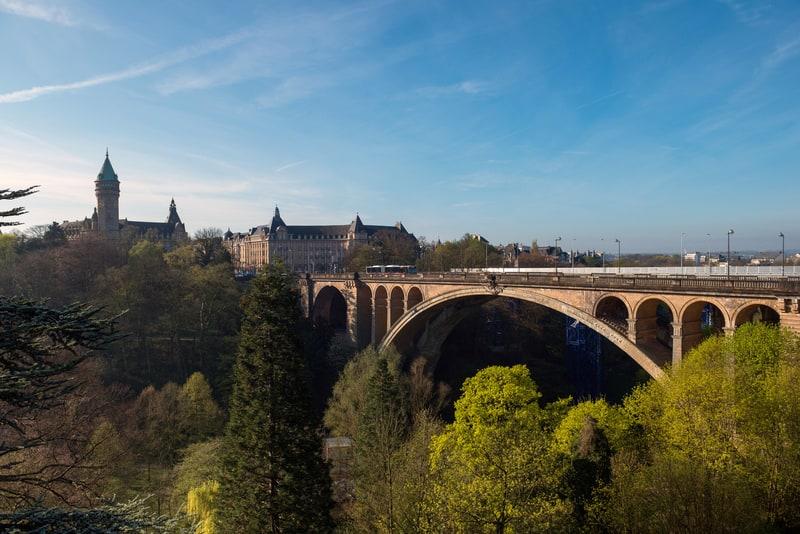 Adolphe Köprüsü Lüksemburg