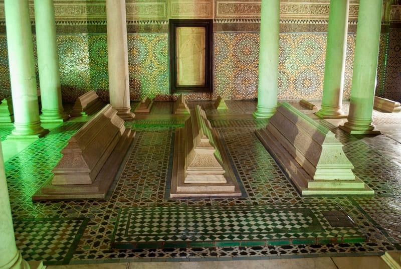 Saadian Mezarları Marakeş Gezilecek Yerler Listesi