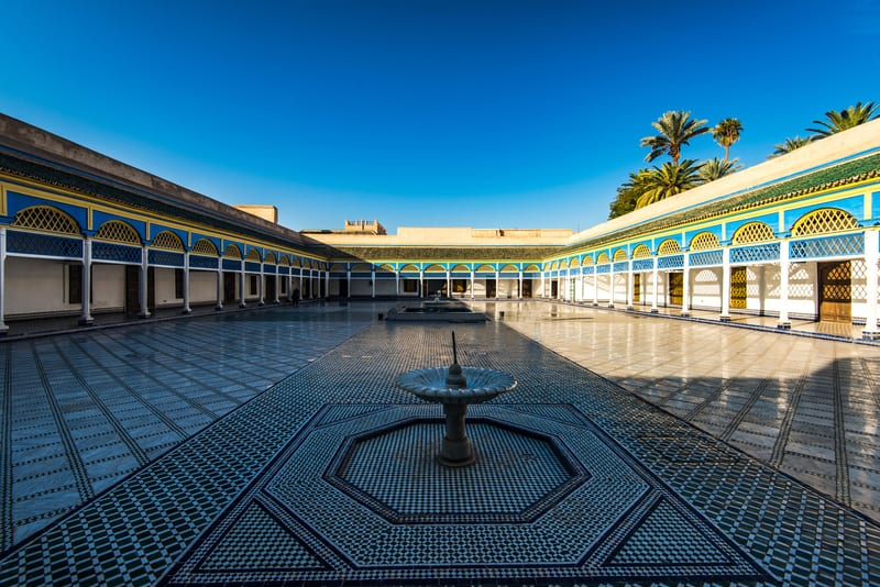 Bahia Sarayı Marakeş