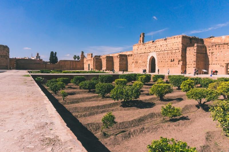 El Badi Sarayı Marakeş
