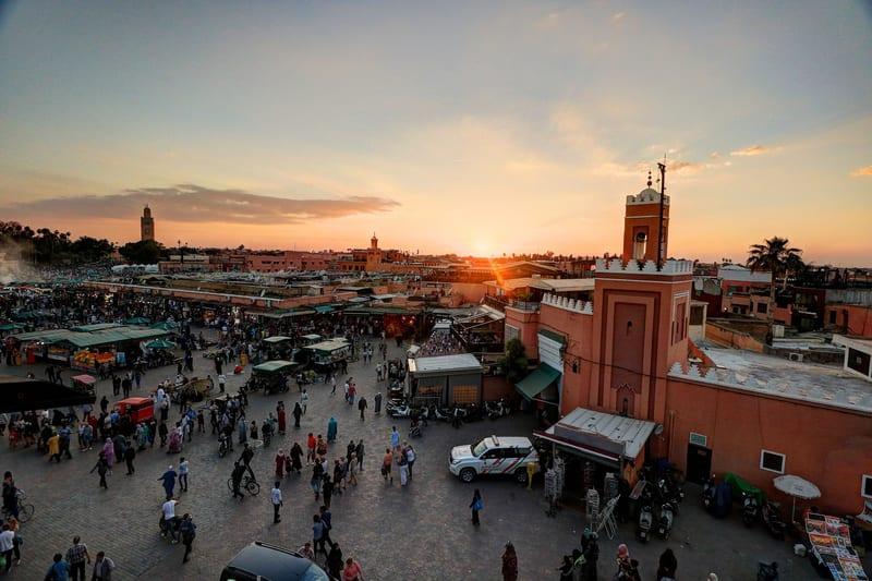Jemaa el-Fnaa Meydanı Marakeş