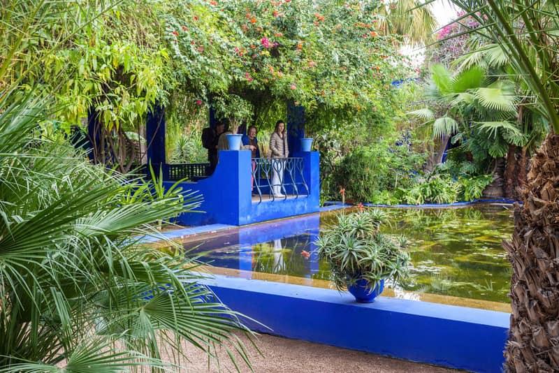 Majorelle Bahçesi Marakeş