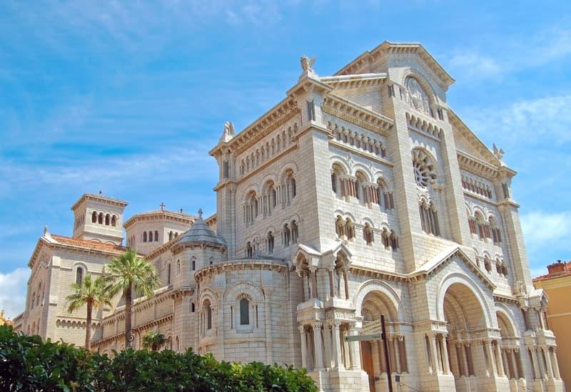 Monaco Katedrali - Monaco Gezilecek Yerler