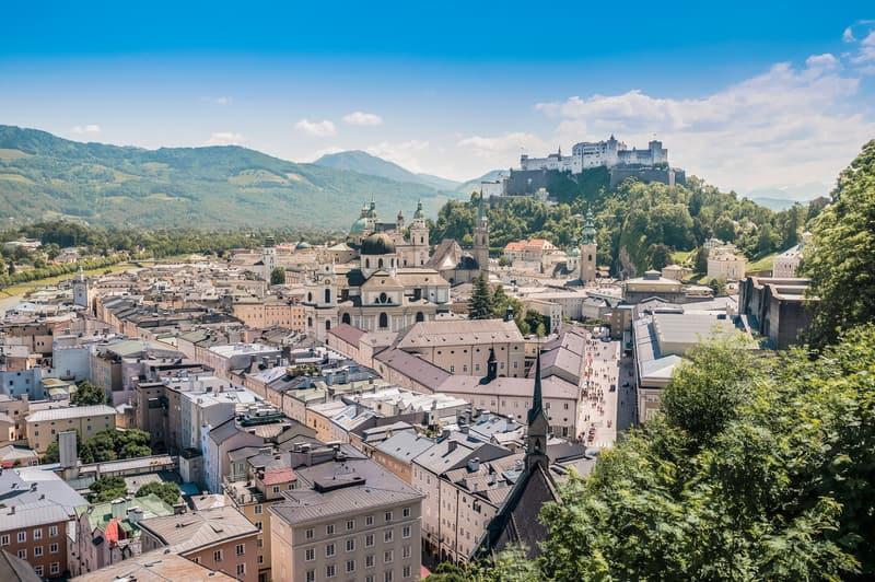 Mönchsberg Salzburg da Gezilecek Yerler