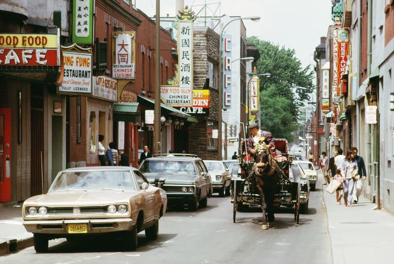 Montreal Çin Mahallesi - Chinatown