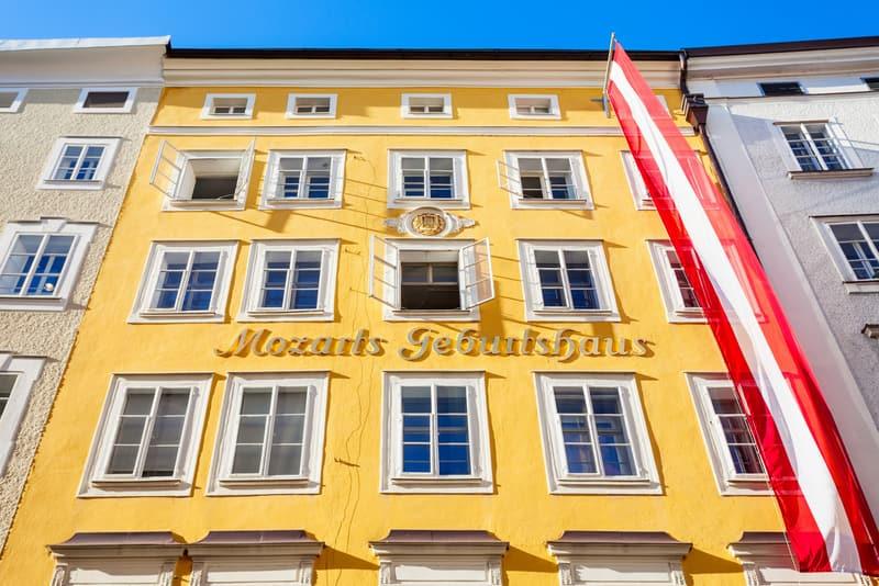 Mozart'ın Doğum Yeri Salzburg