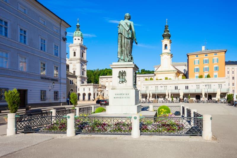 Plaza de Mozart Salzburg Gezilecek Yerler Listesi