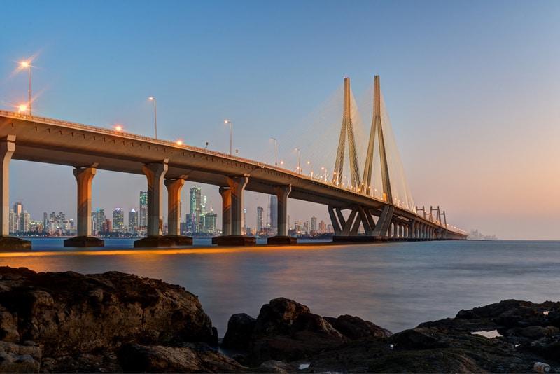 Bandra-Worli Sea Link Köprüsü