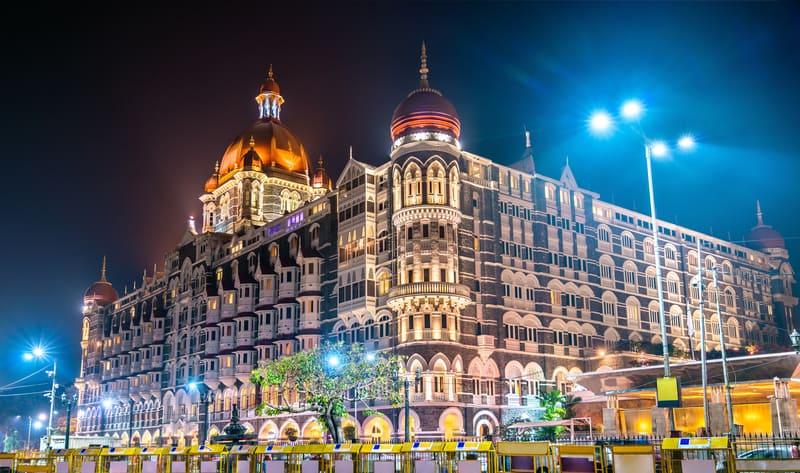 Taj Mahal Palace Hotel'e Dışarıdan Göz Atın