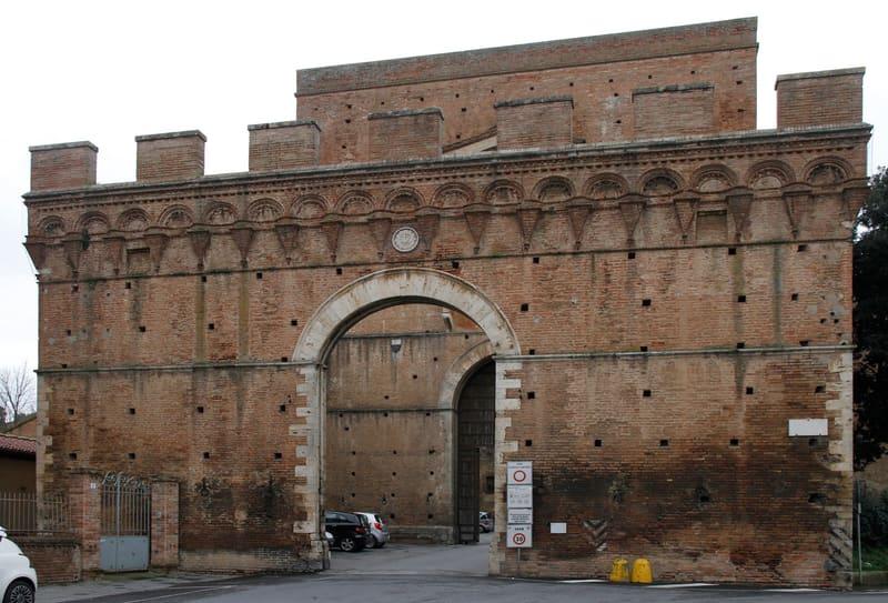 Porta Pispini Kapısı - Siena da Gezilecek Yerler