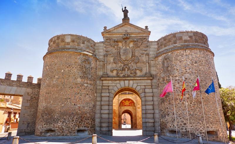 Puerta de Bisagra Toledo Gezilecek Yerler
