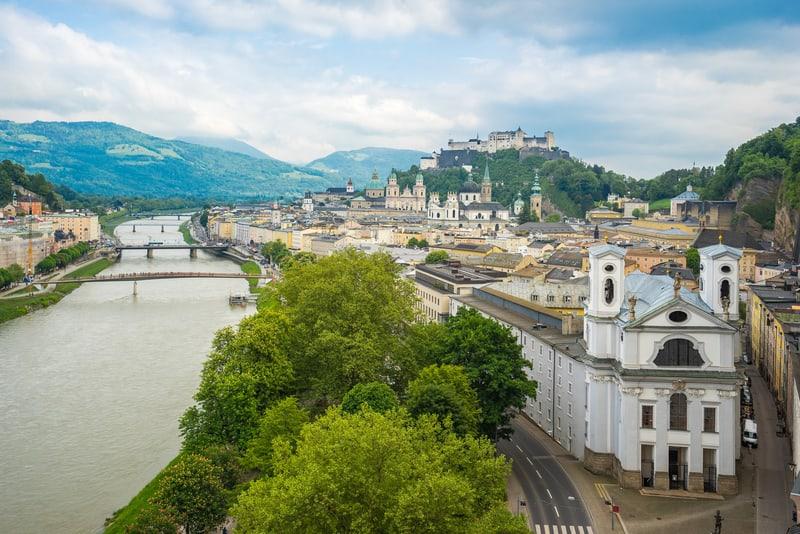 Salzburg Eski Şehir