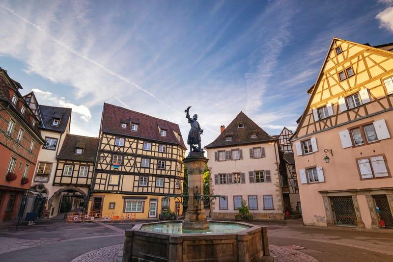 Schwendi Çeşmesi - Colmar da Gezilecek Yerler