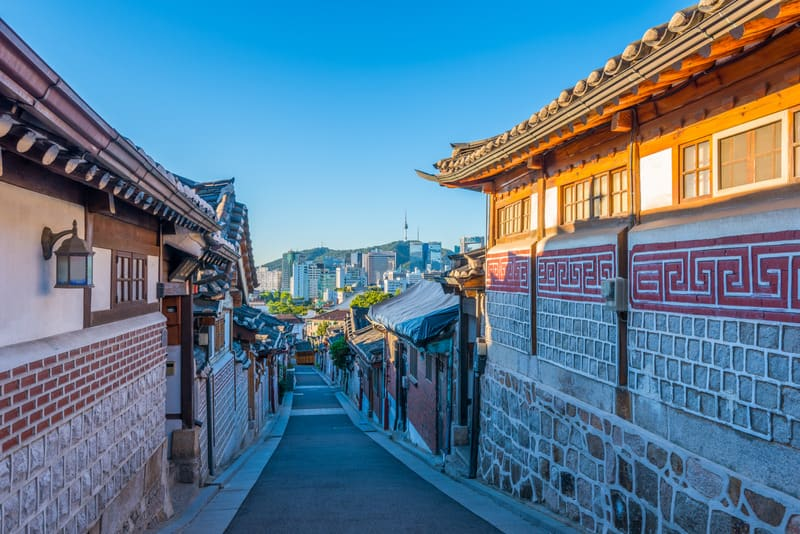 Bukchon Hanok Köyü Seul
