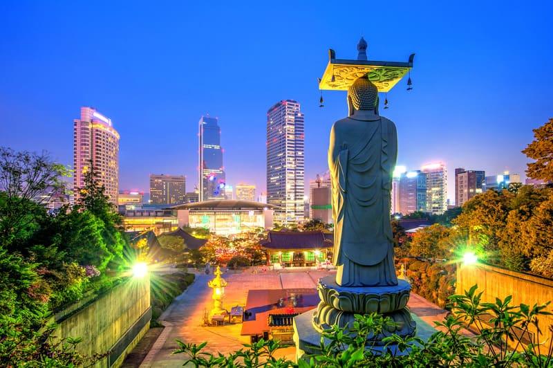 Bongeunsa Tapınağı Seul