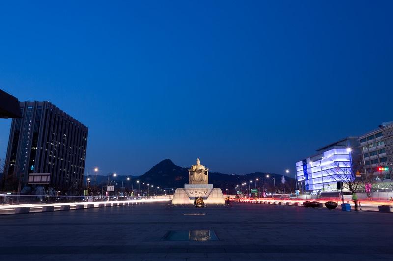 Gwanghwamun Meydanı