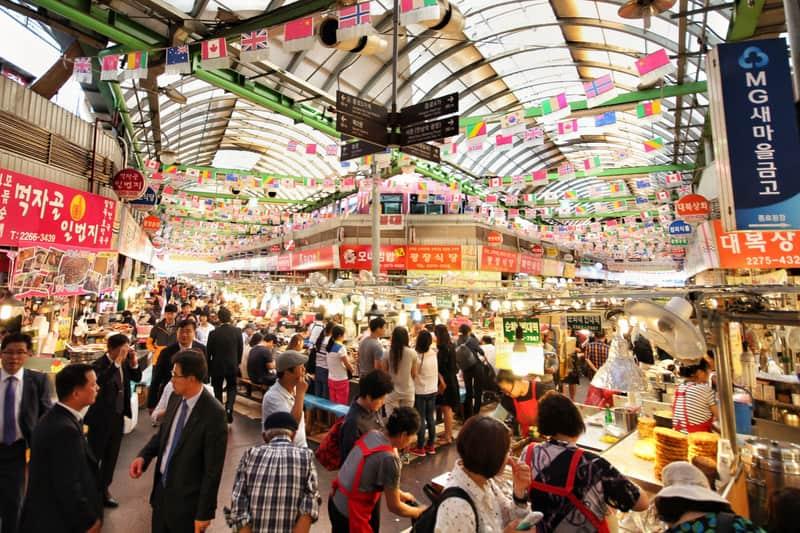 Gwangjang Pazarı Seul