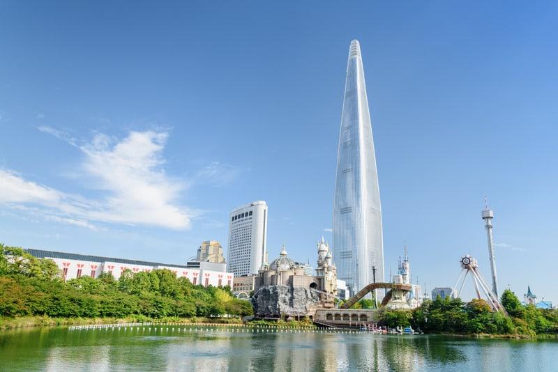 Lotte World Eğlence Parkı Seul