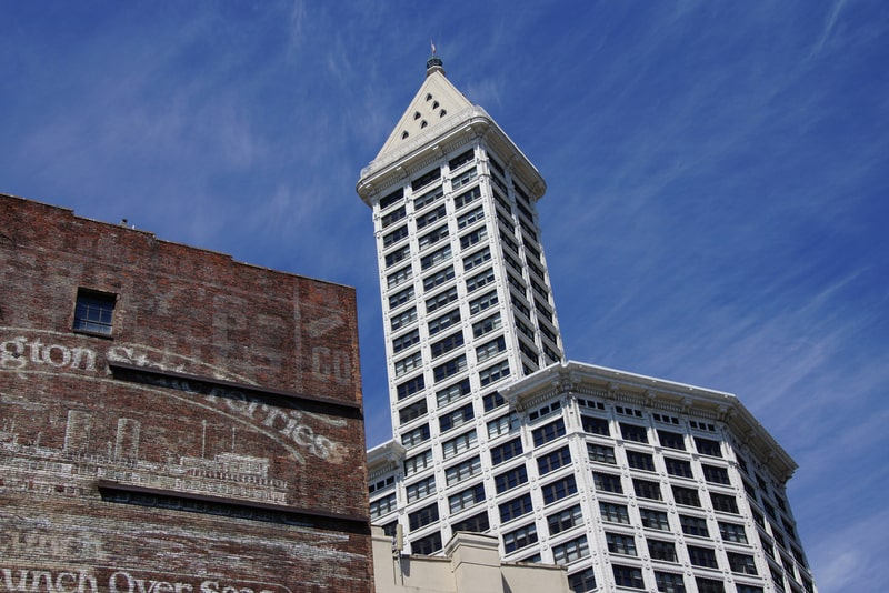 Smith Kulesi - Seattle Gezilecek Yerler