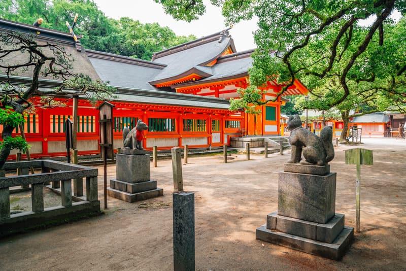 Sumiyoshi Tapınağı Osaka Gezilecek Yerler