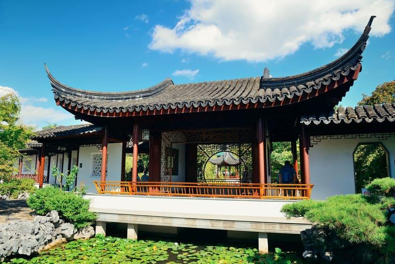 Sun Yat-Sen Çin Bahçesi Vancouver