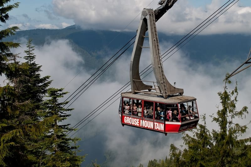 Grouse Mountain Teleferik