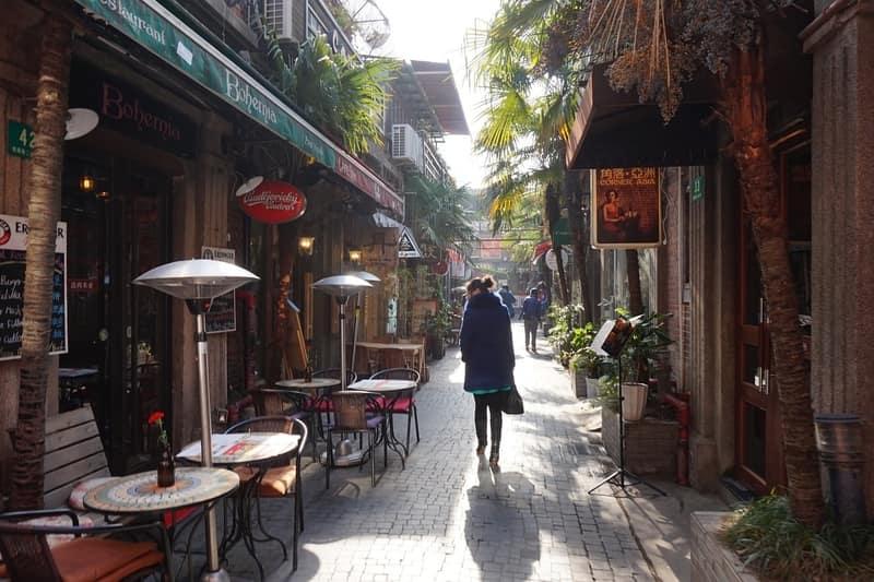 Tianzifang Caddesi