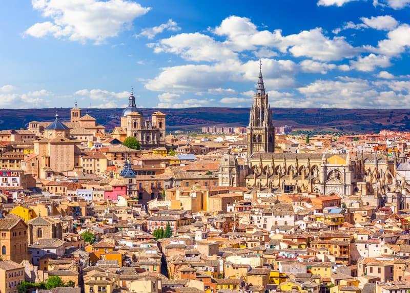 Toledo Şehir Manzarası