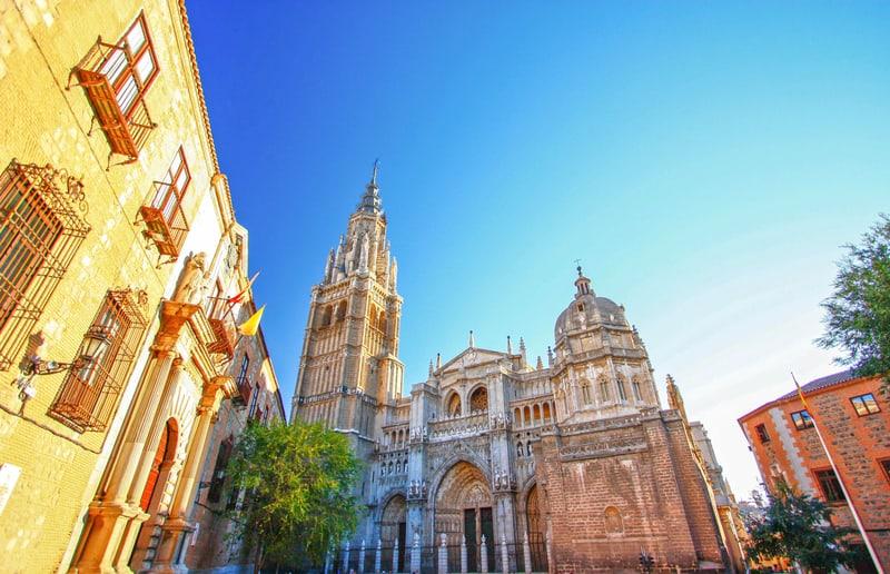 Toledo Katedrali İspanya