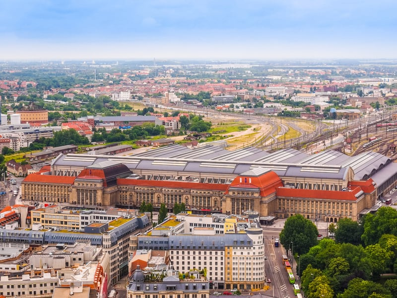 Leipzig Tren İstasyonu - Leipzig Hauptbahnhof