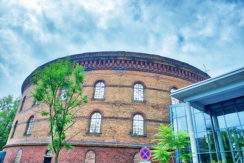 Leipzig Panometer Binası