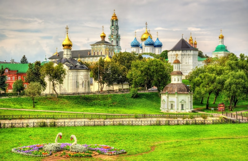 Sergiyev Posad - Rusya'nın Altın Halkası