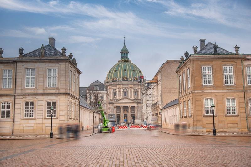 Kopenhag Amalienborg Sarayı