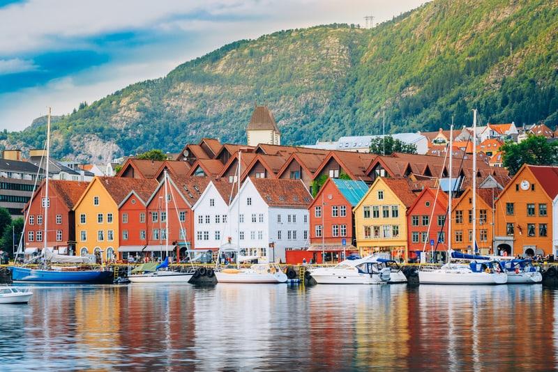Bergen Evleri