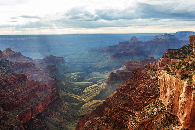 Grand Canyon Village - Büyük Kanyon Köyü
