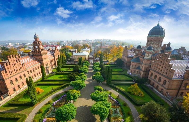 Çernivtsi Üniversitesi - Ukrayna