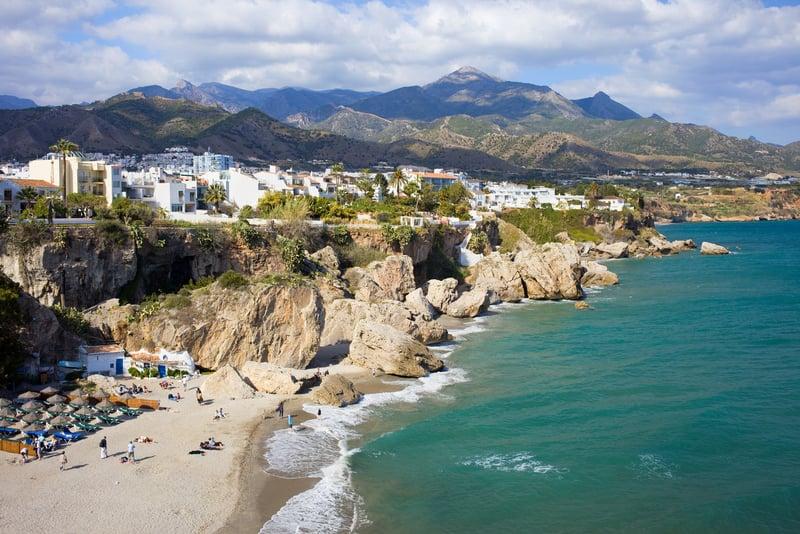 costa del Sol Plajları - İspanya gezilecek yerler blog