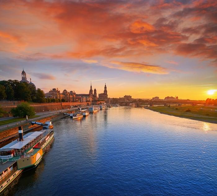 Dresden manzarası