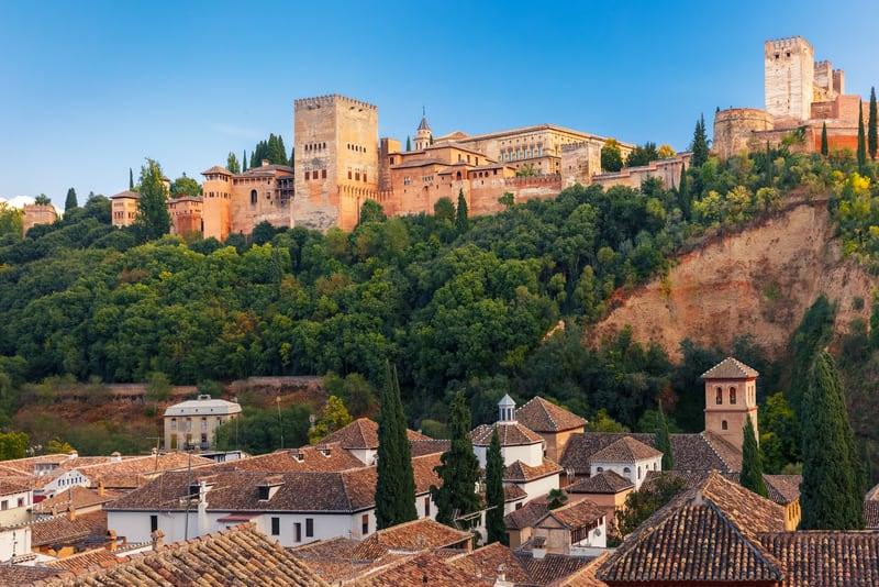 El Hamra Sarayı - Granada