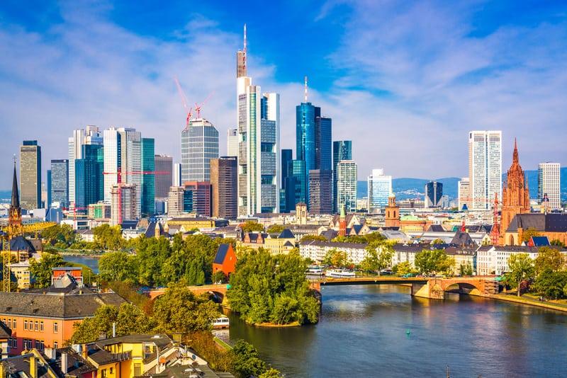 Frankfurt Almanya'nın Gözdesi