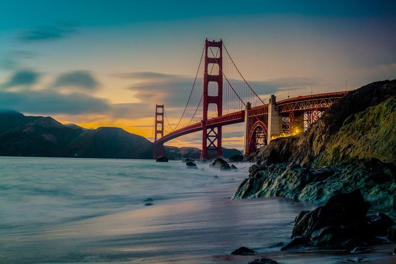 San Francisco Golden Gate Köprüsü