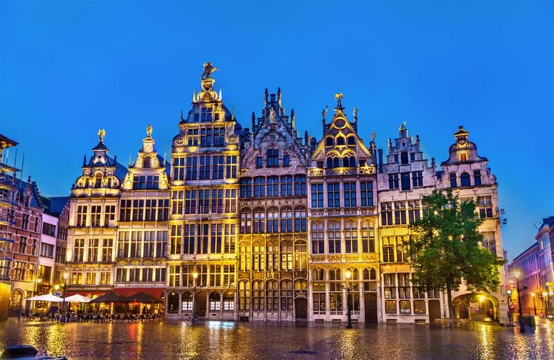 Grand Place - Antwerp - Belçika Gezi Rehberi