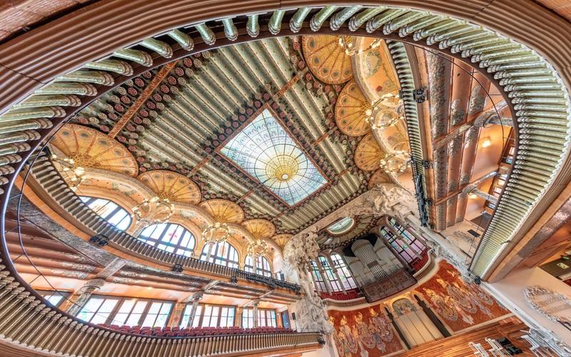 Katalan Müzik Sarayı - Barselona Gezilecek Yerler