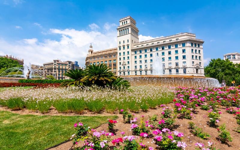 Katalunya Meydanı - Barselona Gezilecek Yerler