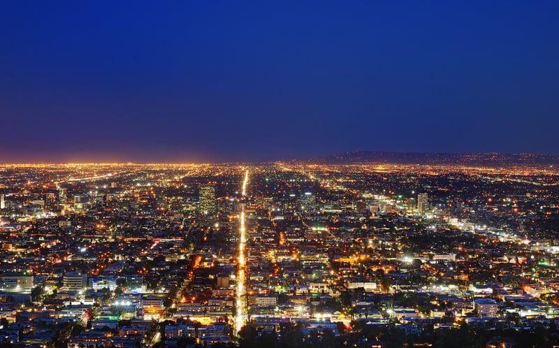Amerika'nın en ünlüsü Los Angeles