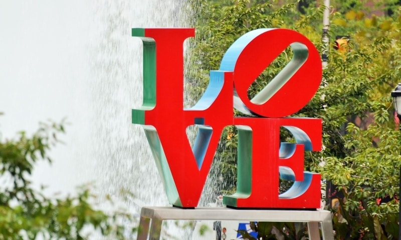 Love Park - John F. Kennedy Plaza