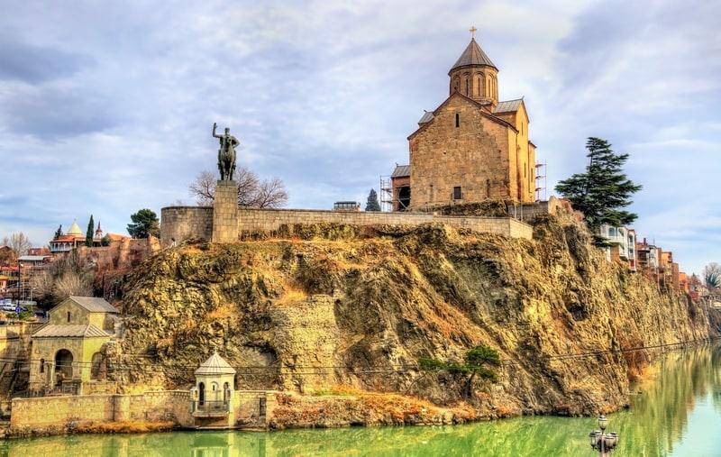 Metehi Kilisesi - Tiflis Gezilecek Yerler Blog