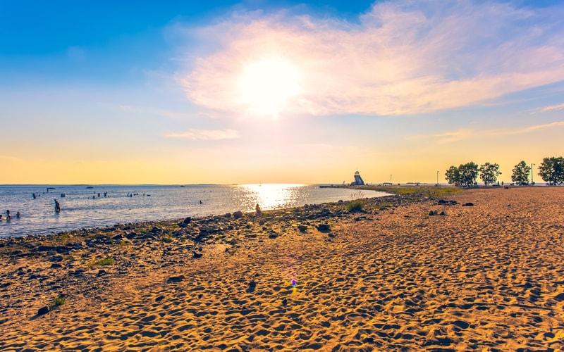 Oulu Nalikari Plajı