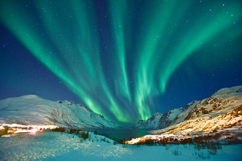 Tromso Norveç Kuzey Işıkları